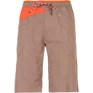 La Sportiva Bleauser Shorts Herr falcon brown/pumpkin falcon brown/pumpkin