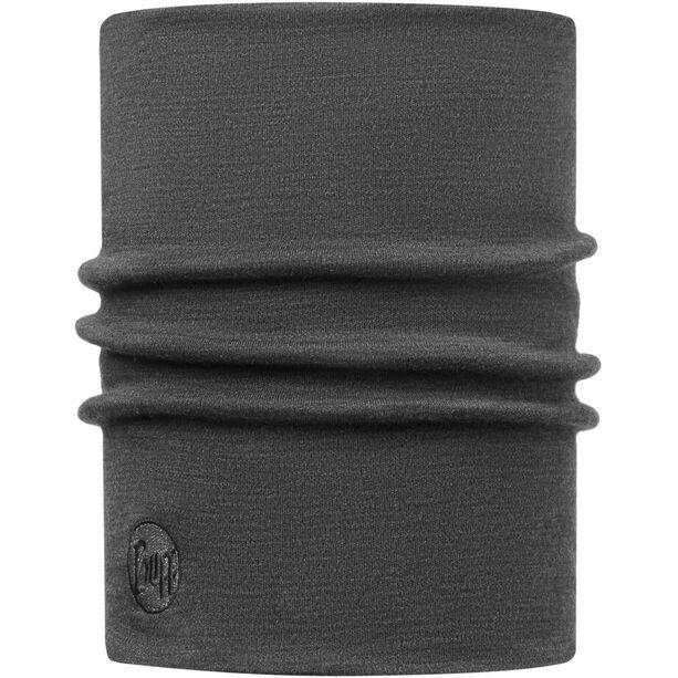 Buff Heavyweight Merino Wool Neckwarmer solid grey