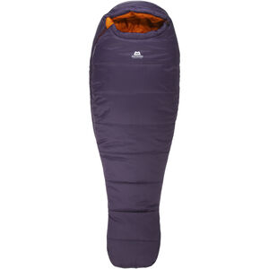 Mountain Equipment Starlight III Sleeping Bag Long Dam aubergine/blaze aubergine/blaze