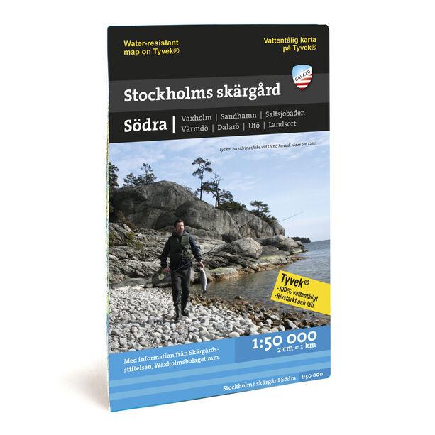 Calazo Sjö- & kustkartor: Stockholms Skärgård Södra 1:50 000