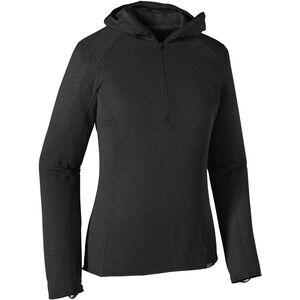 Patagonia Capilene Thermal Weight Zip Neck Hoody Dam black black