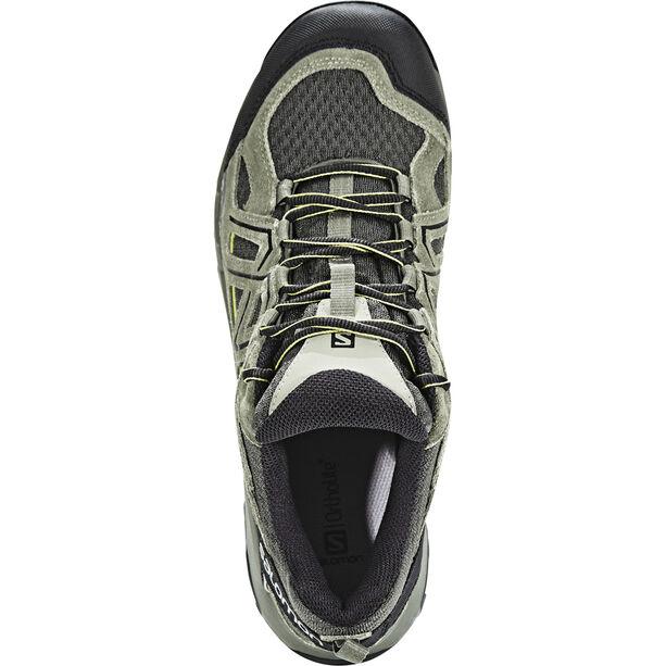 Salomon Evasion 2 Aero Shoes Herr castor gray/beluga/fern