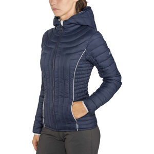Meru Amberly Padded Jacket Dam dress blue dress blue