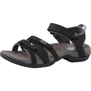 Teva Tirra Leather Sandals Dam black black