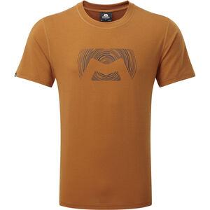 Mountain Equipment Groundup Logo+ Tee Herr pumpkin spice pumpkin spice