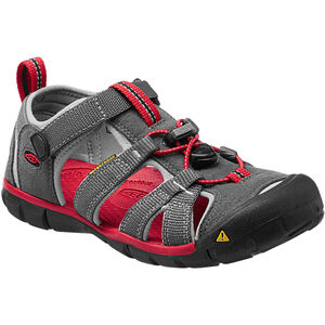 Keen Seacamp II CNX Sandals Barn magnet/racing red magnet/racing red