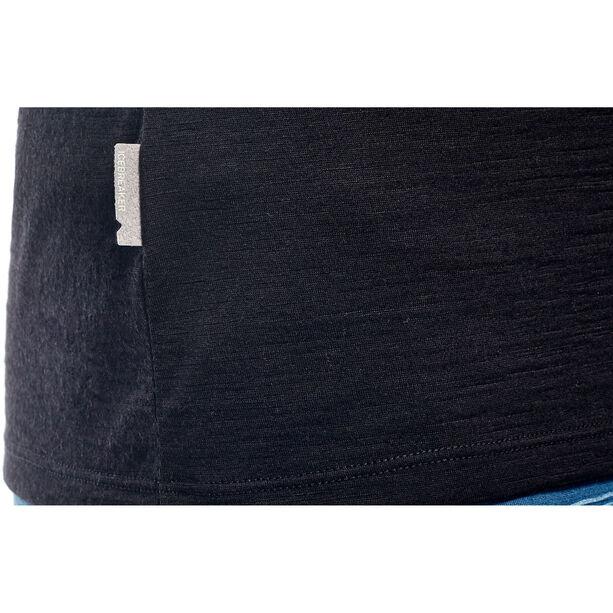 Icebreaker Tech Lite SS Low Crewe Shirt Dam black