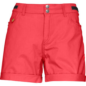 Norrøna Svalbard Light Cotton Shorts Dam crisp ruby crisp ruby