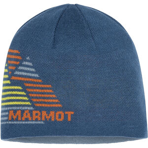 Marmot Novelty Reversible Beanie Moroccan Blue Moroccan Blue