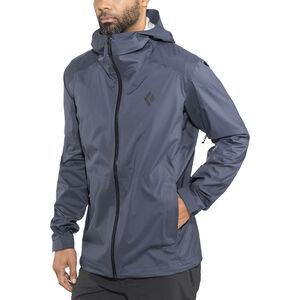 Black Diamond Stormline Stretch Rain Shell Jacket Herr captain captain