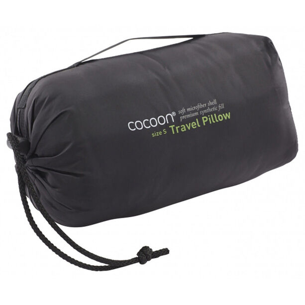 Cocoon Travel Pillow Nylon/Microfiber Medium charcoal/smoke grey
