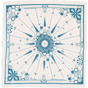 United By Blue Bee Hive Bandana cream cream