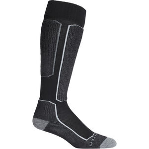Icebreaker Ski+ Light OTC Socks Herr Black Black