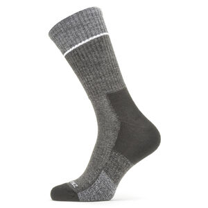 Sealskinz Solo QuickDry Mid Socks black/grey black/grey