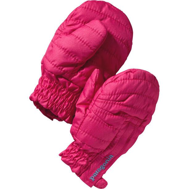 Patagonia Puff Mitts Barn magic pink
