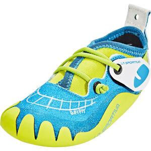 La Sportiva Gripit Climbing Shoes Barn blue/sulphur blue/sulphur