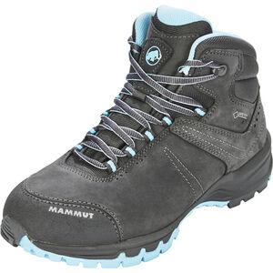 Mammut Nova III Mid GTX Shoes Dam graphite-whisper graphite-whisper