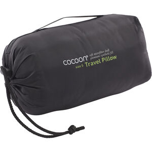 Cocoon Travel Pillow Nylon/Microfiber Small charcoal/smoke grey charcoal/smoke grey