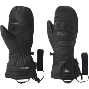 Outdoor Research Lucent Heated Sensor Mitts Black Black