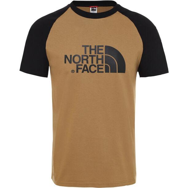 The North Face Raglan Easy SS Tee Herr British Khaki
