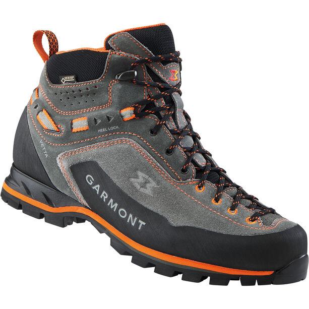 Garmont Vetta GTX Mid Cut Shoes Herr dark grey/orange