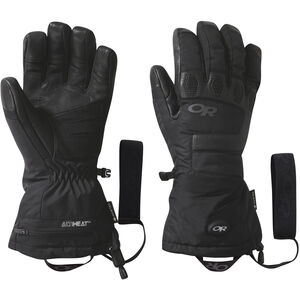 Outdoor Research Lucent Heated Sensor Gloves Black Black