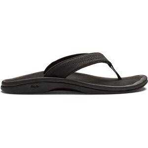 OluKai Ohana Sandals Dam black / black black / black