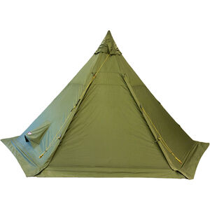 Helsport Pasvik 4-6 Outertent + Pole green green