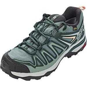 Salomon X Ultra 3 Prime GTX Shoes Dam balsam green/darkest spruce/coral almond balsam green/darkest spruce/coral almond