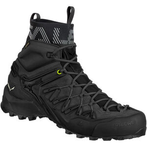 SALEWA Wildfire Edge GTX Mid Shoes Herr black/black black/black