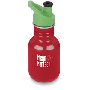 Klean Kanteen Kid Classic Bottle Sport Cap 3.0 355ml Barn mineral red mineral red