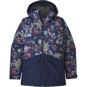 Patagonia Insulated Snowbelle Jacket Dam village byrd: navy blue village byrd: navy blue