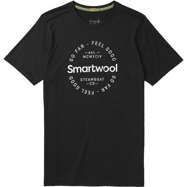 Smartwool Merino Sport 150 Go Far Feel Good Tee Herr black