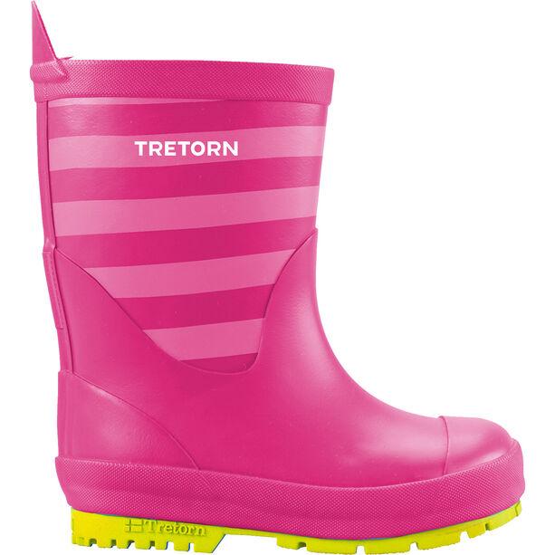 Tretorn Gränna Rubber Boots Barn fuchsia/pink