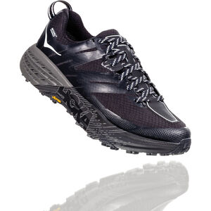 Hoka One One Speedgoat 3 WP Running Shoes Dam black/plein air black/plein air