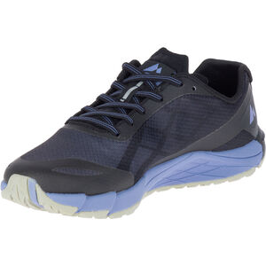 Merrell Bare Access Flex Shoes Dam black/metalelic lilac black/metalelic lilac