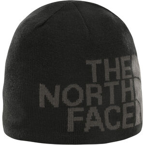 The North Face Reversible TNF Banner Beanie TNF Black/Asphalt Grey Logo Xl TNF Black/Asphalt Grey Logo Xl