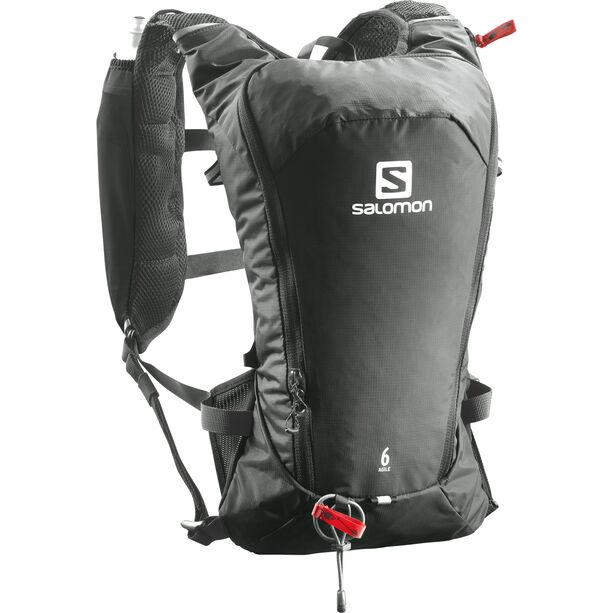 Salomon Agile 6 Backpack Set urban chic/shadow