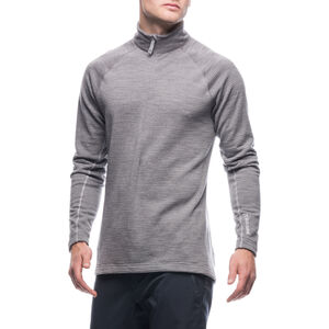 Houdini Wooler Half Zip Sweater Herr college grey/haze college grey/haze