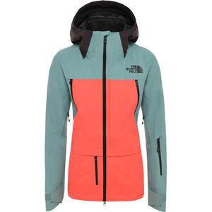 The North Face Ceptor Jacket Dam trellis green/radiant orange/weathered black trellis green/radiant orange/weathered black