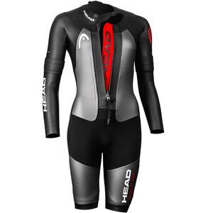 Head Swimrun MyBoost Pro Wetsuit Dam black/silver black/silver