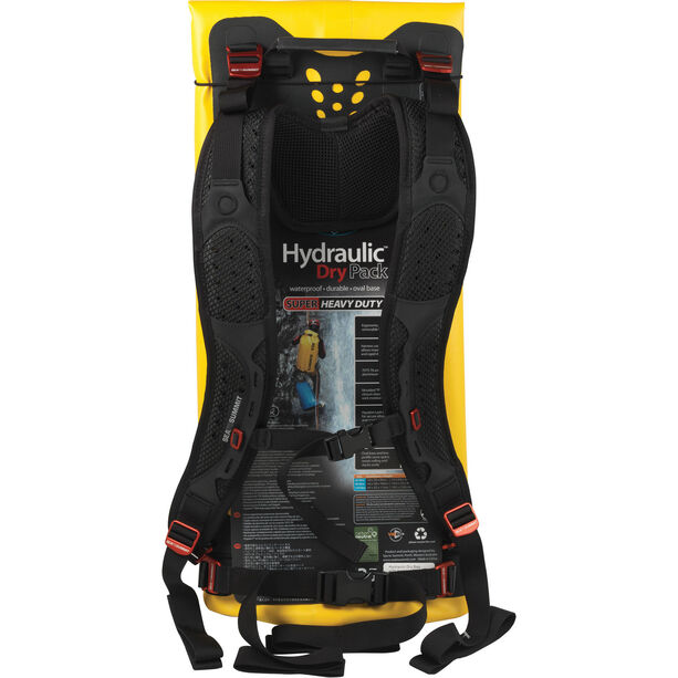 Sea to Summit Hydraulic Dry Pack 35l with Harness yellow