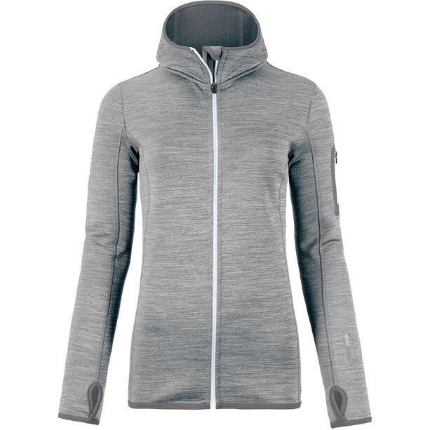 Ortovox Fleece Melange Hoody Dam grey blend