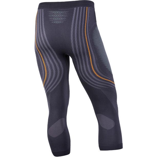 UYN Evolutyion UW Medium Pants Herr charcoal/green/orange shiny