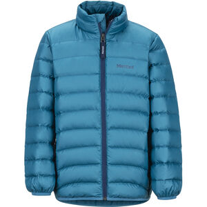 Marmot Highlander Down Jacket Pojkar moroccan blue moroccan blue