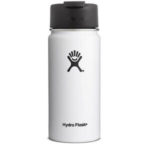 Hydro Flask Wide Mouth Coffee Bottle 473ml white white