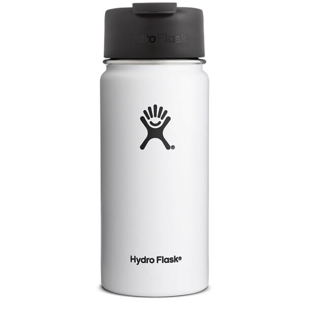 Hydro Flask Wide Mouth Coffee Bottle 473ml white