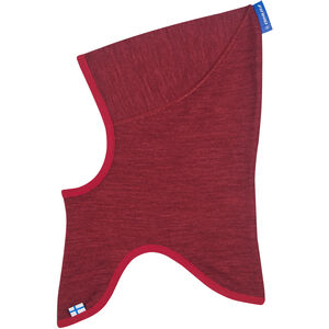 Finkid Luola Balaclava Flickor cabernet/persian red cabernet/persian red