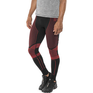 X-Bionic Effektor Power Running Pants Long Herr black/red black/red