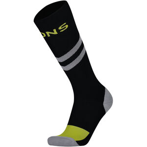 Mons Royale Lift Access Socks Herr Black / Grey Black / Grey